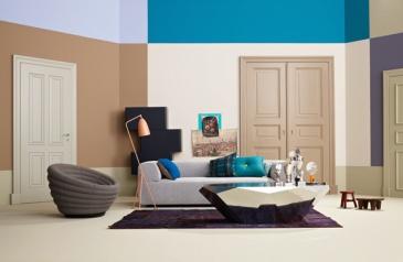 Harmonische Wohnfarben